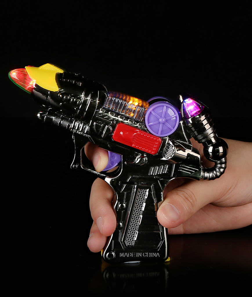 Fun Central AI267 LED Light Up Mini Blaster Gun with Sound