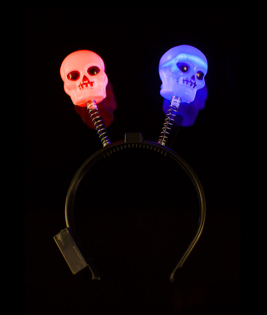 LED Skull Headboppers