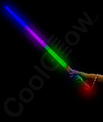 LED Light Super Saber 28 Inch - Multicolor 6ct