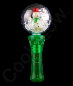 LED Spinner Wand - Snowman