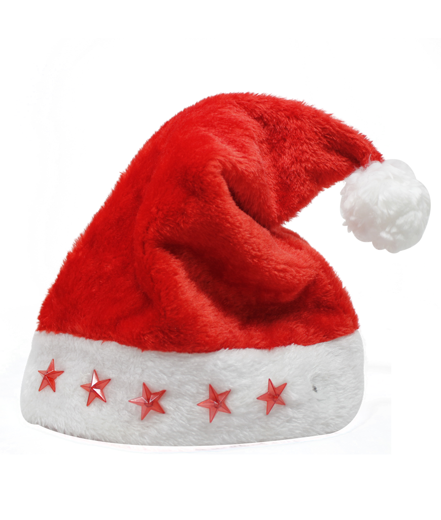 Fun Central M872 LED Light Up Santa Hat