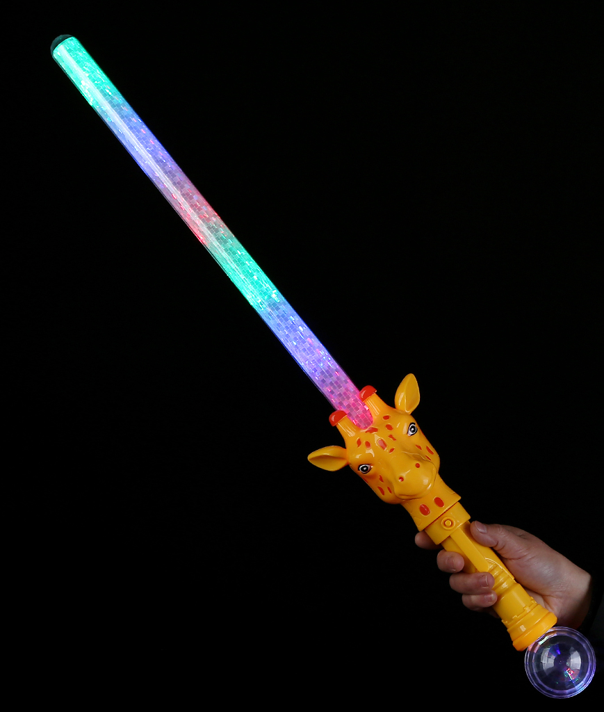 28 Inch LED Zoo Animal Sword - Giraffe