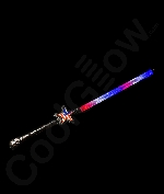 Fun Central O558 LED Light Up Light Up Patriotic Star Wand