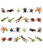 2 Inch Mini Insect Bug Figures - Assorted