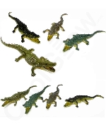 6 Inch Crocodiles Action Figure - Assorted