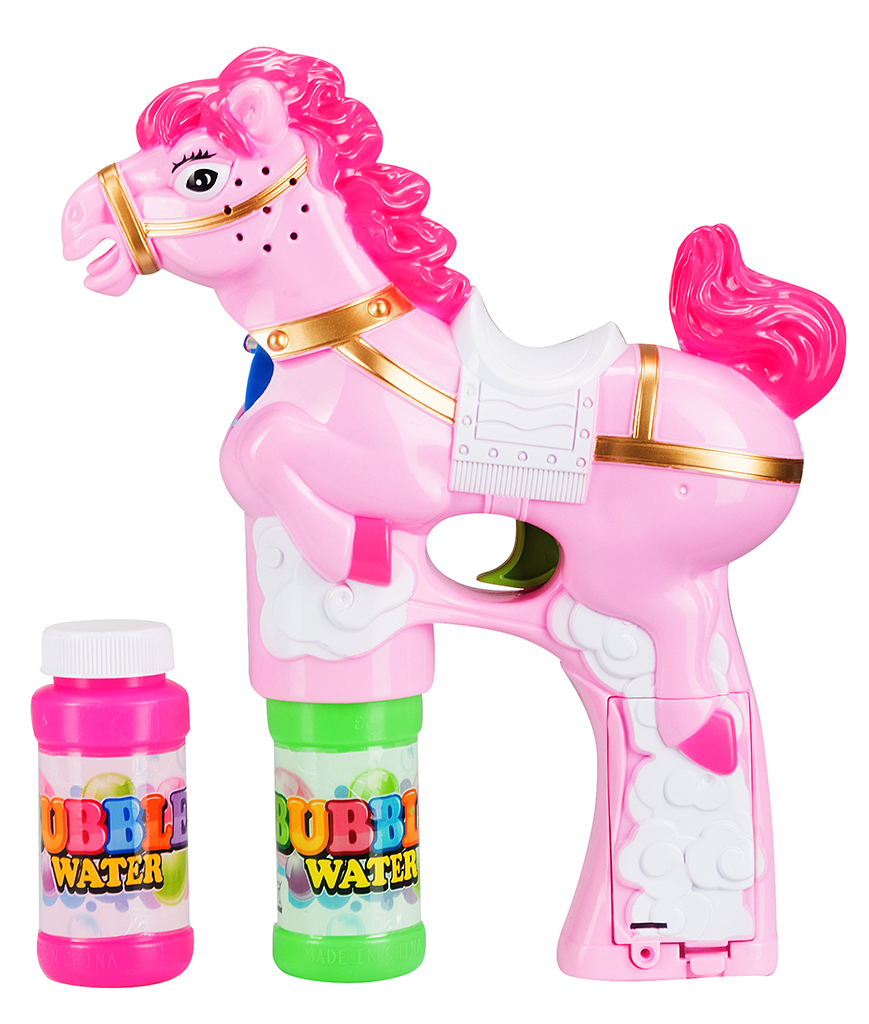 LED 6 Inch Bubble Gun - Pony