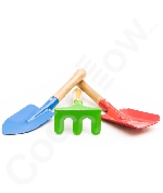 8.5 Inch Kid's 3-Piece Garden Tool Set