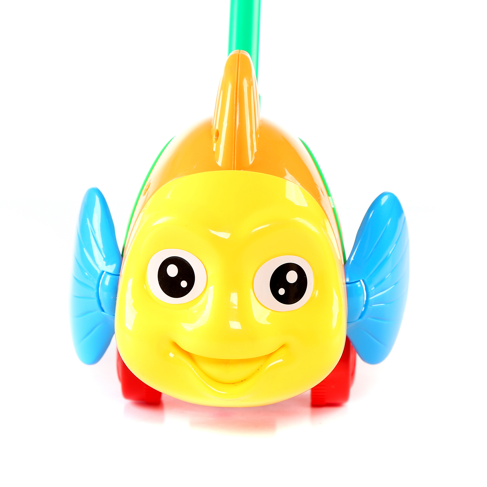 9.5 Inch Fish Push Toy