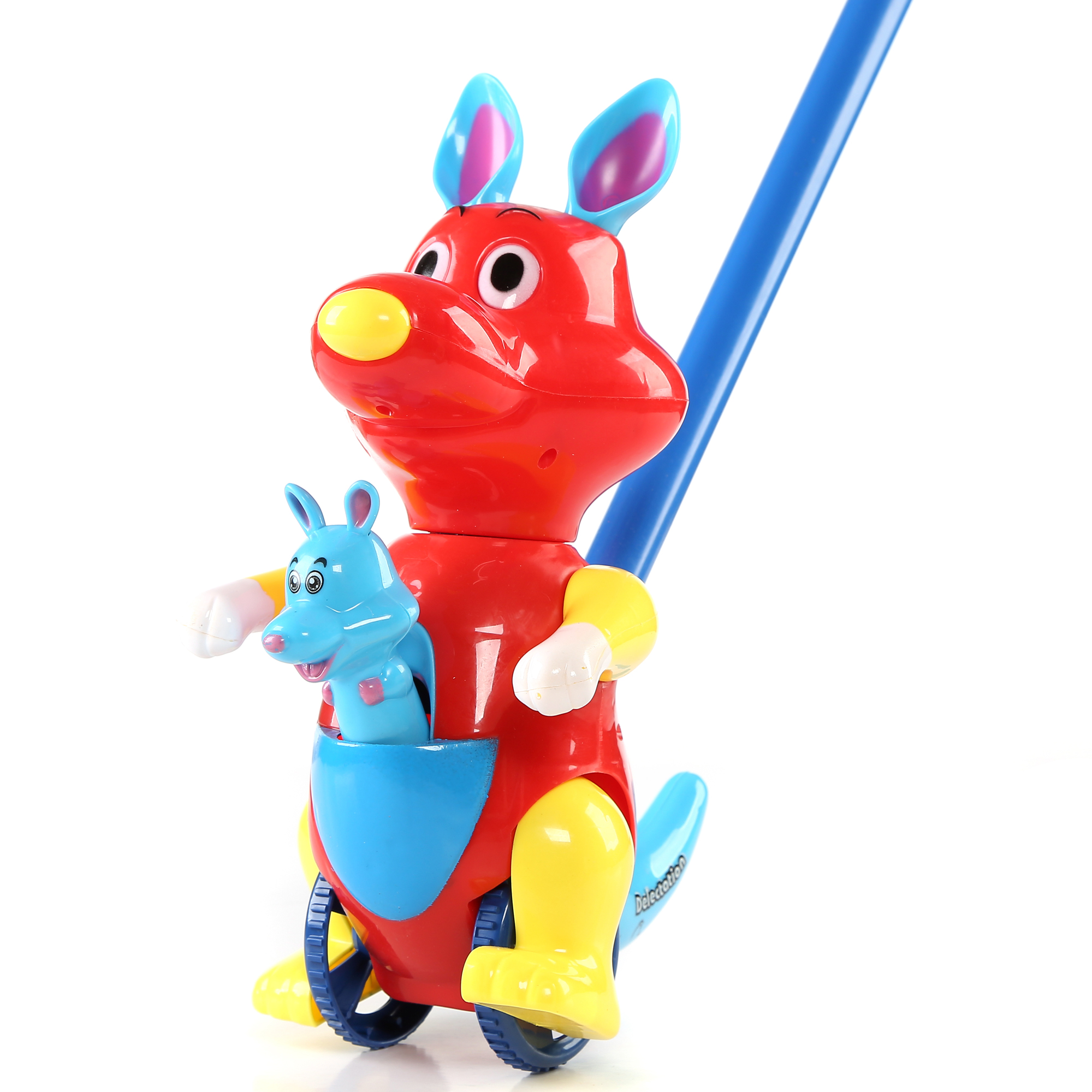 10 Inch Kangaroo Push Toy