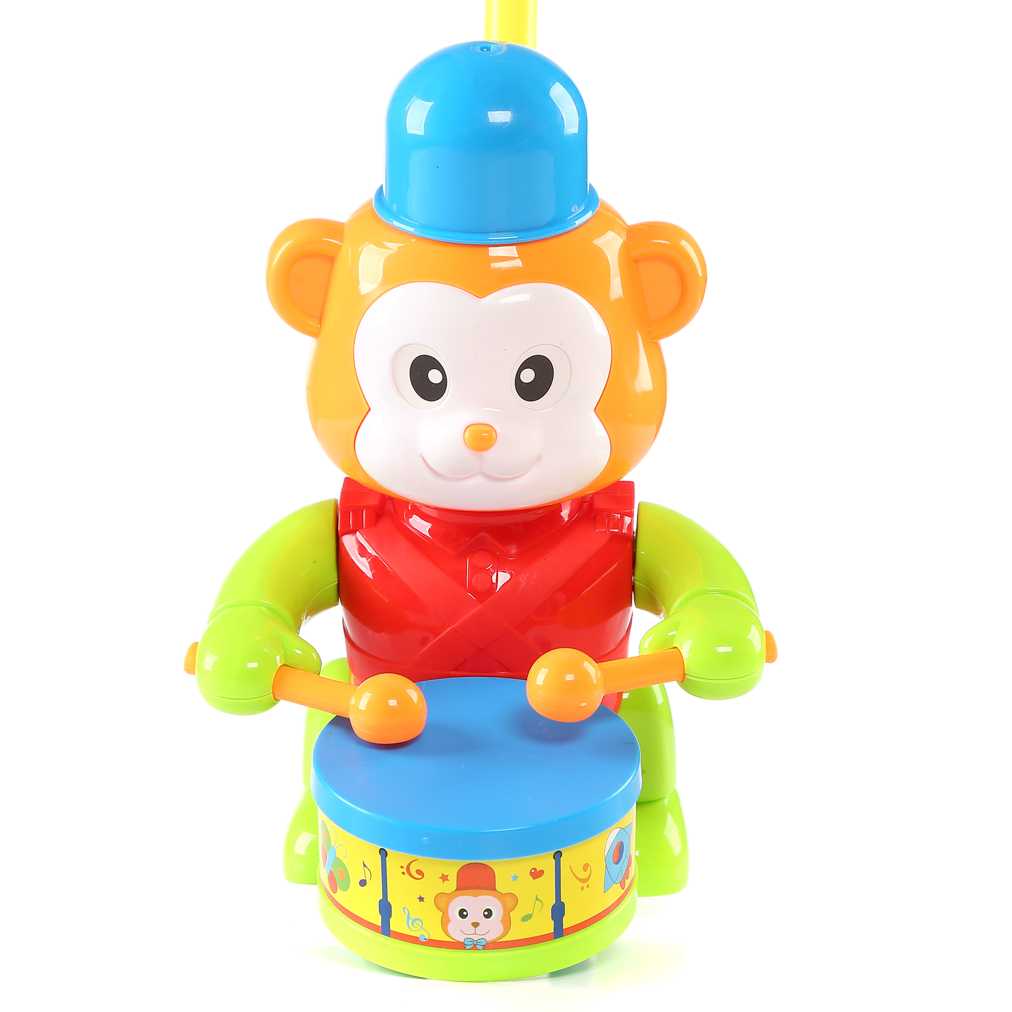 8.5 Inch Monkey Push Toy