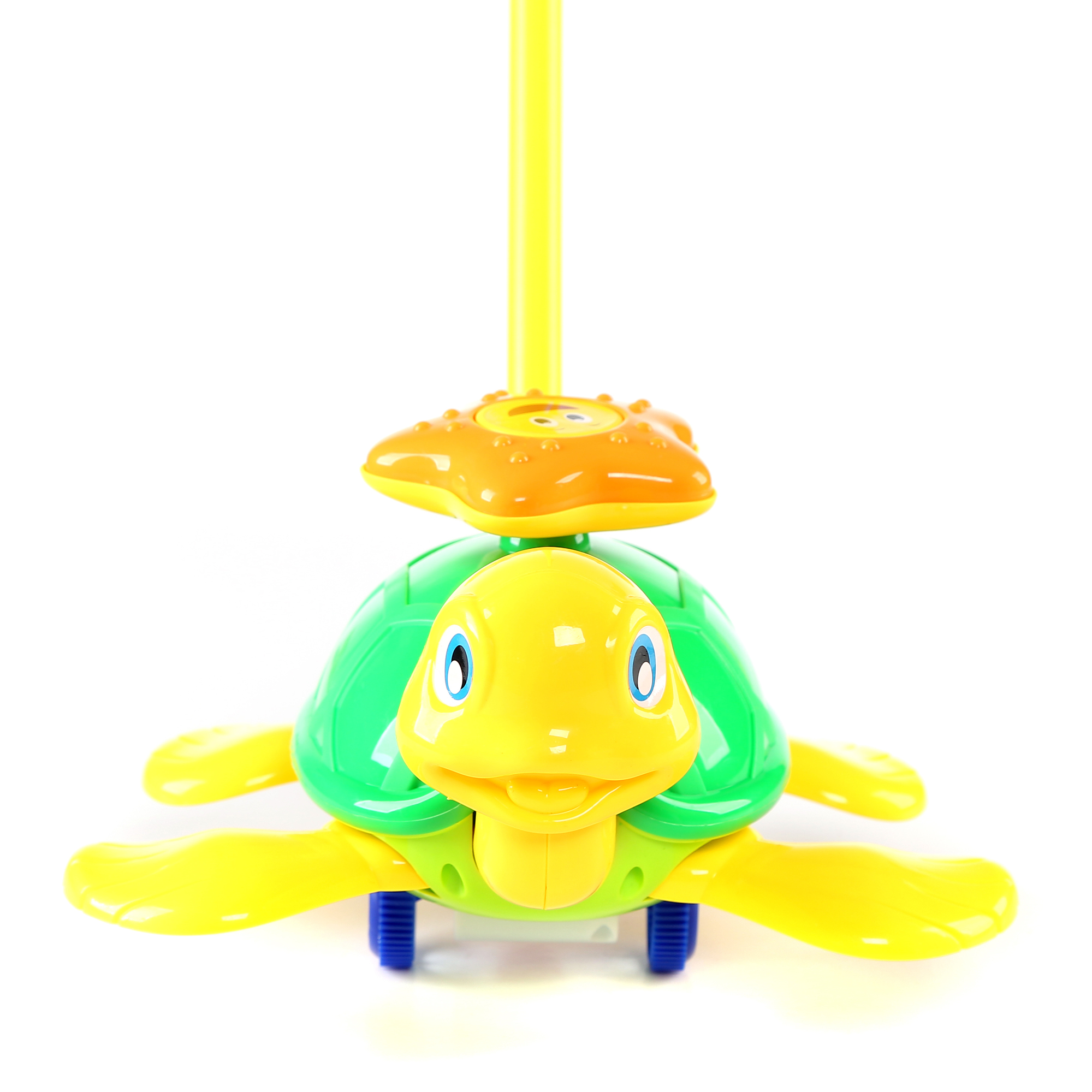 10 Inch Turtle Push Toy