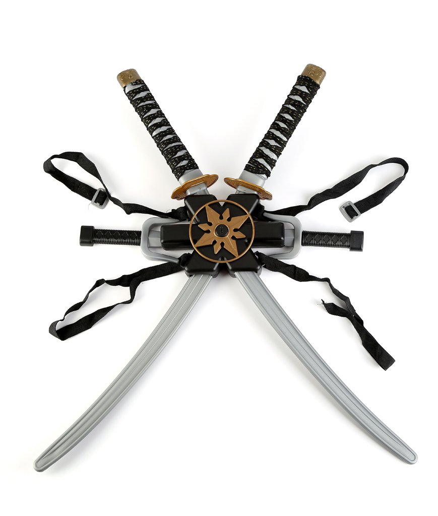 Ninja Double Sword Toy Weapon Set