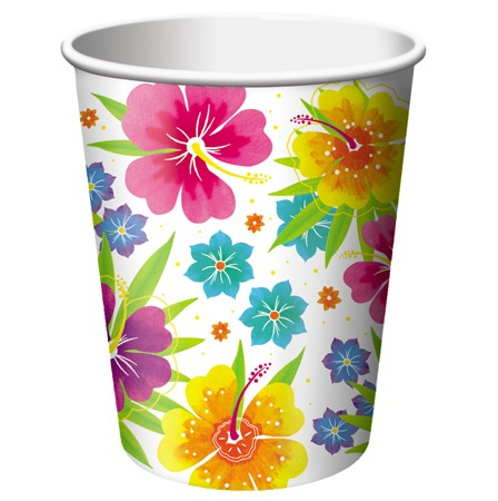Floral Delight Big Value 9 Oz HotCold Cup