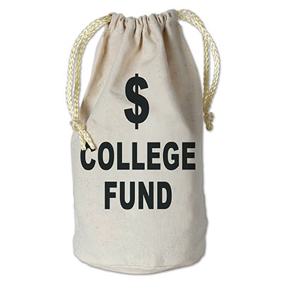 College Fund Money Bag 8 x 6