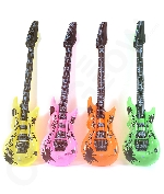 Inflatable Guitars - 42 inch 12PKG Assorted colors