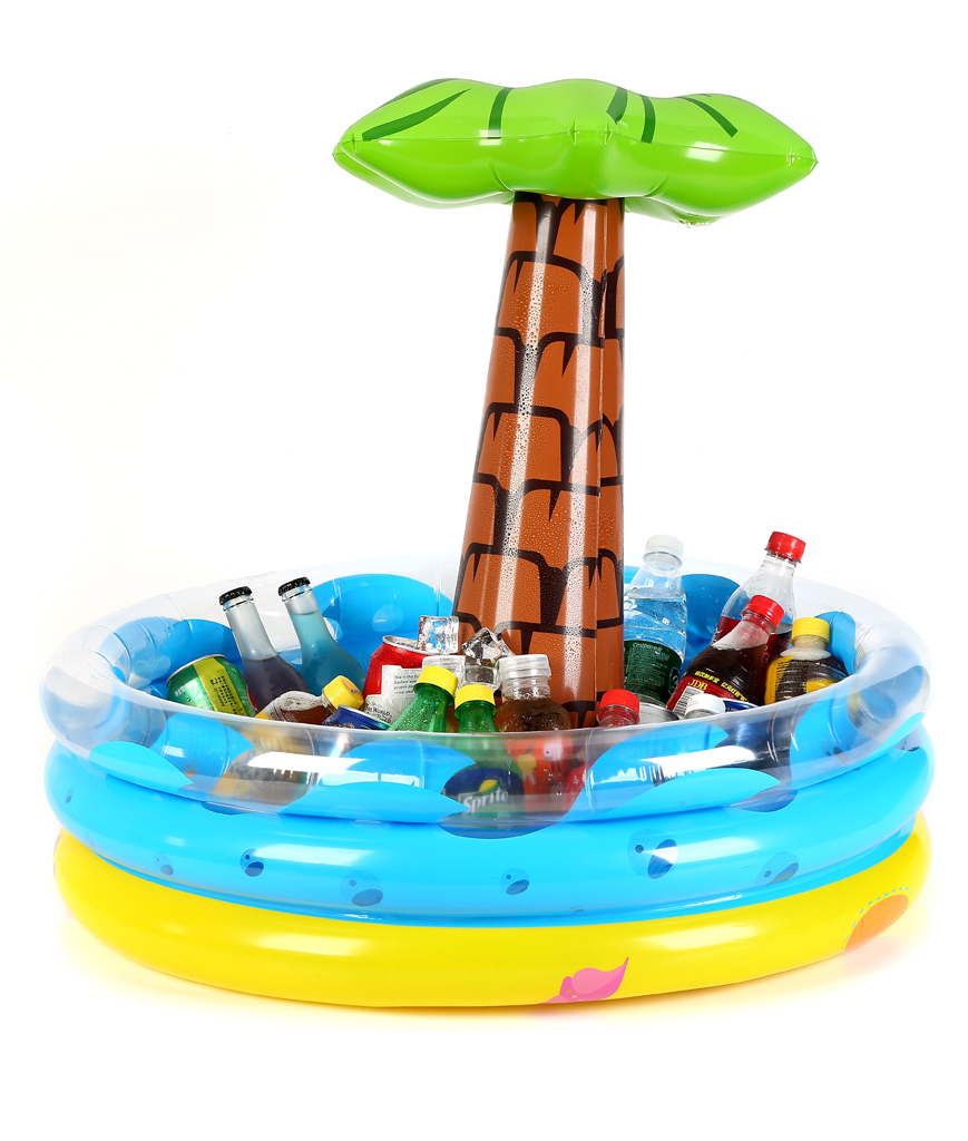 28 Inch Inflatable Palm Tree Cooler