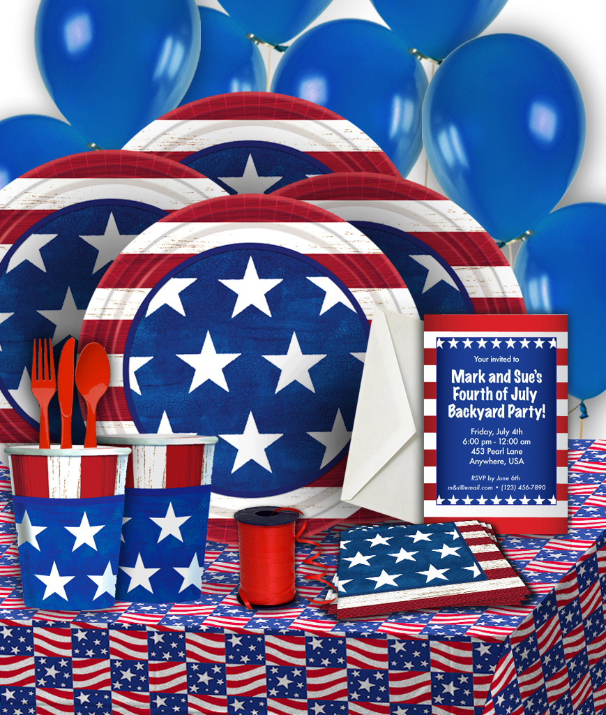 Americana Basic Party Pack
