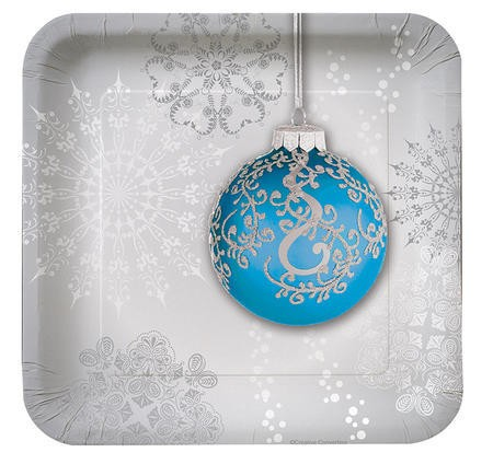 Jingle Bells 7 inch Lunch Plates