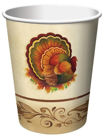 Traditional Feast 9 Oz HotCold Cup