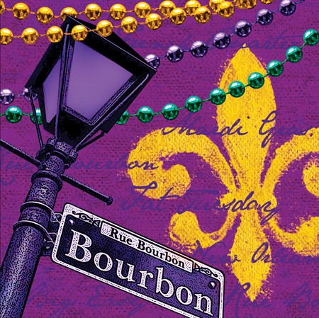 Rue Bourbon 2-Ply Lunch Napkins