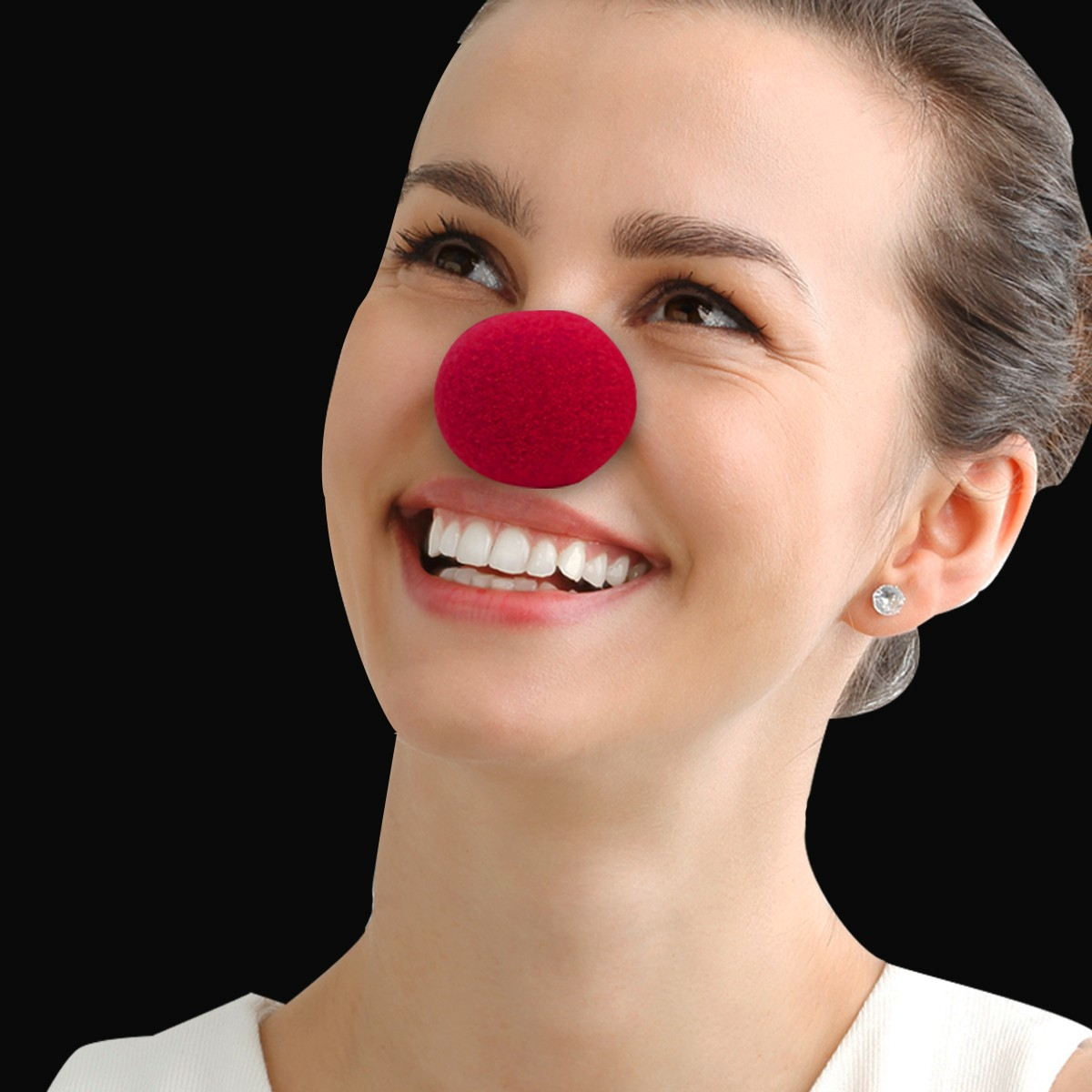 2 INCH FOAM CLOWN NOSE