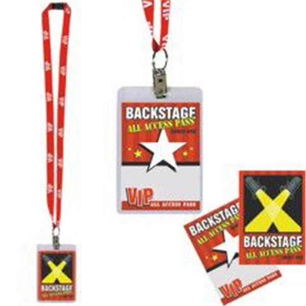 VIP PARTY PASS W LANYARD