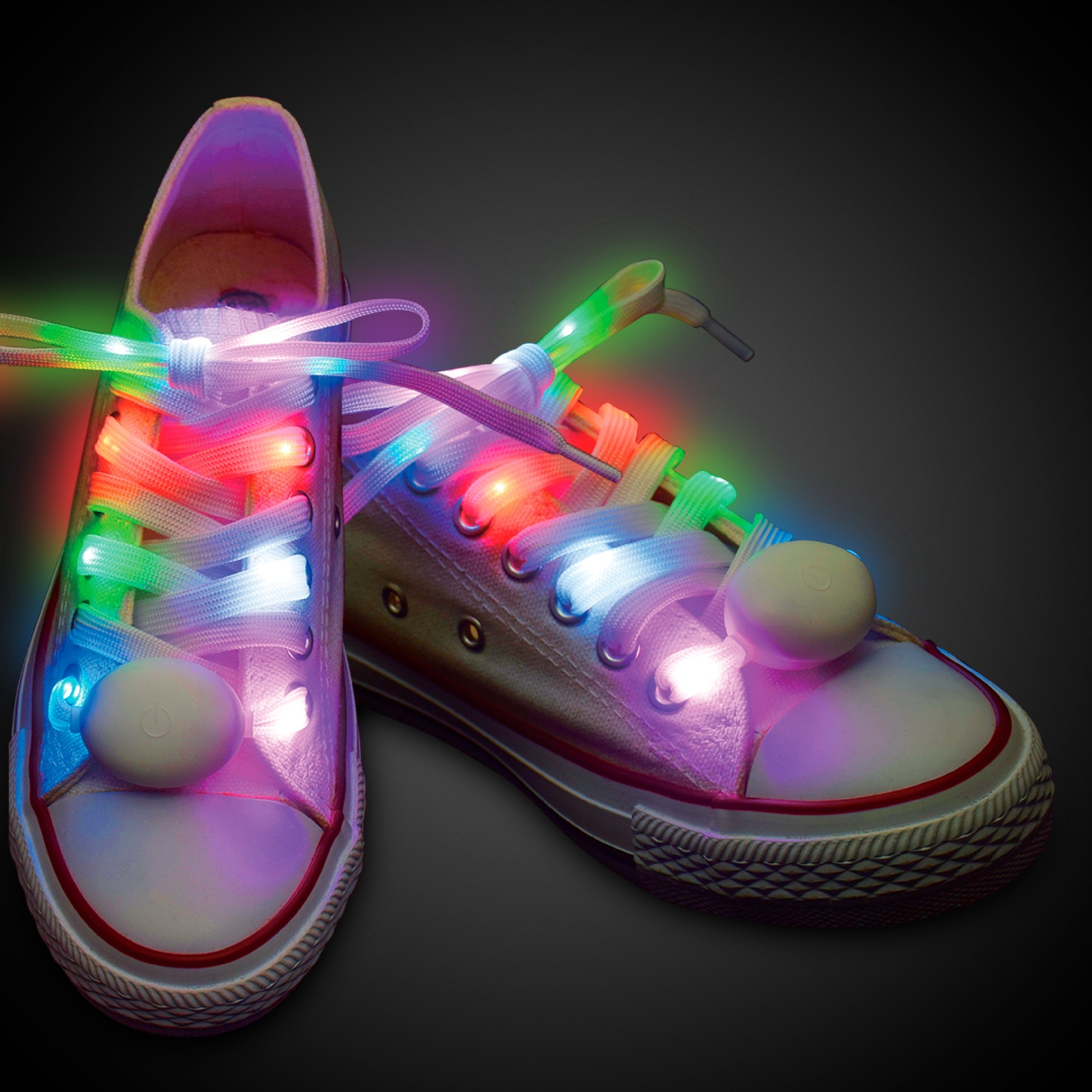 1 PAIR  2X- 47 INCH LED SHOELACE-W5