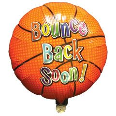 18 INCH BOUNCE BACK SOON BALLOON