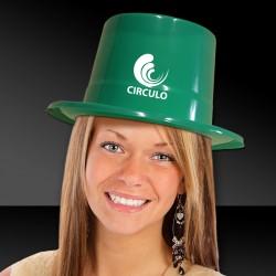 GREEN TOP HAT - PLASTIC