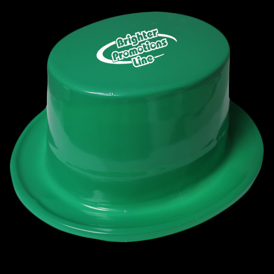 GREEN TOP HAT - PLASTIC