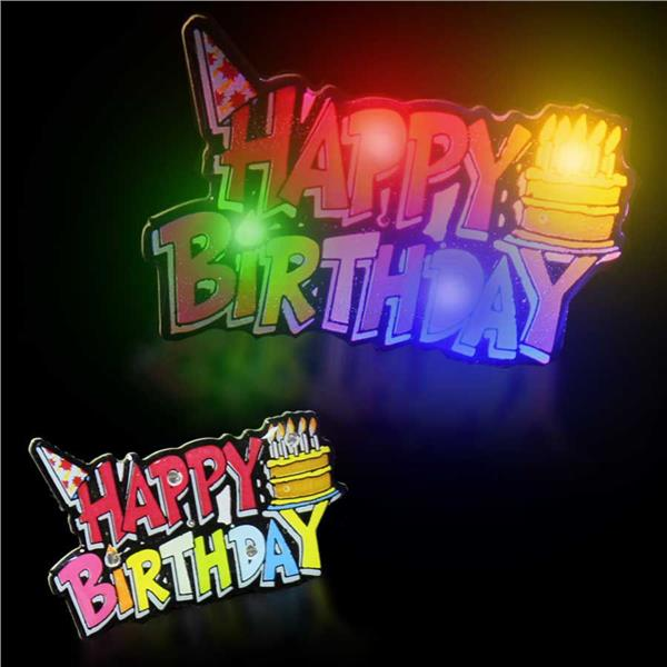 LED BLINKY -HAPPY BIRTHDAY