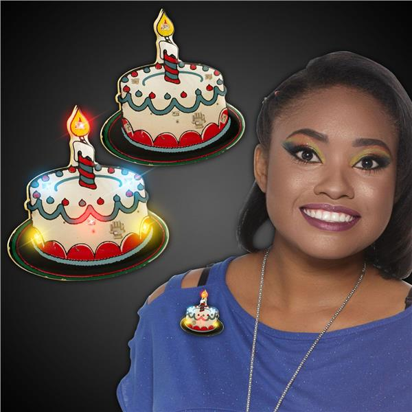 LED BLINKIE- BIRTHDAY CAKE