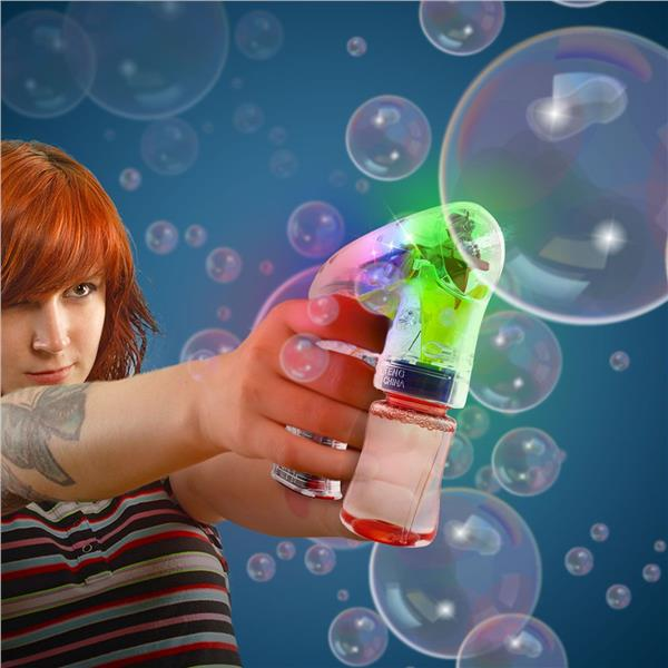 5.5 INCH LIGHT UP BUBBLE GUN