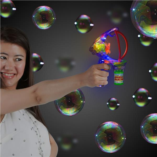 LITE-UP SUPER BUBBLE GUN