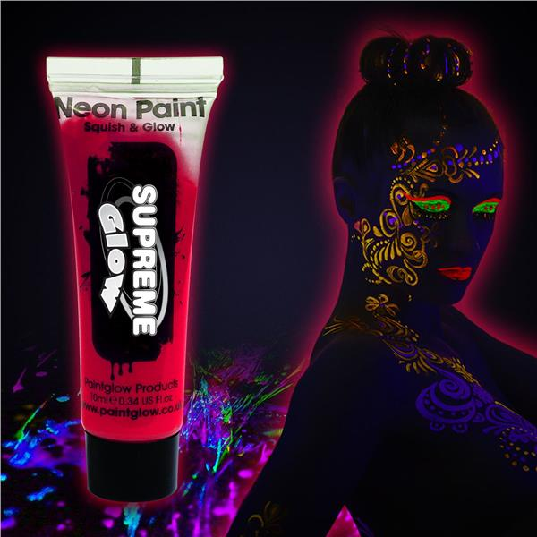 ROSE RED- UV FACE & BODY PAINT