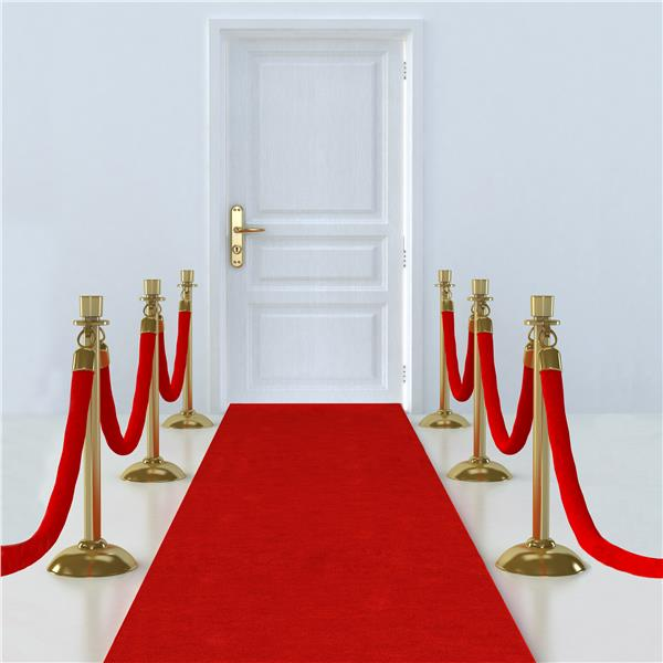 HOLLYWOOD RED FLOOR RUNNER