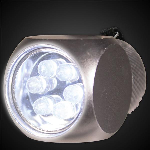 SILVER - LED FLASHLIGHT