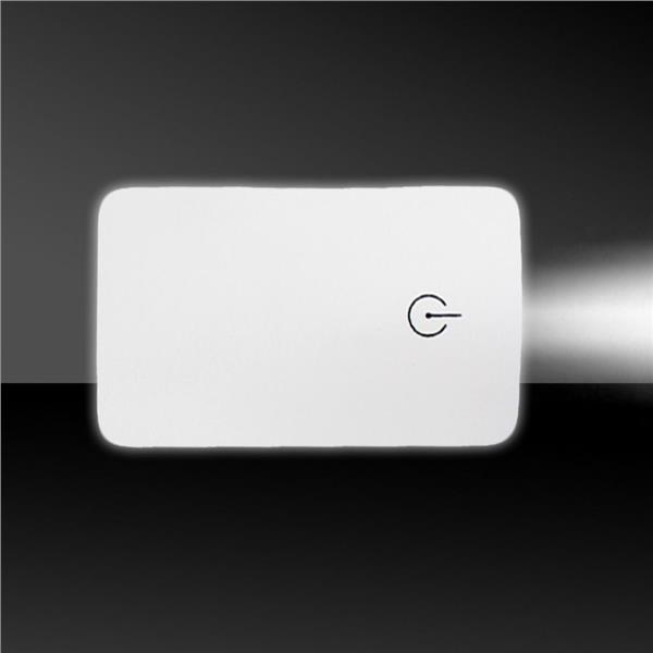 WHITE CREDIT CARD LIGHT