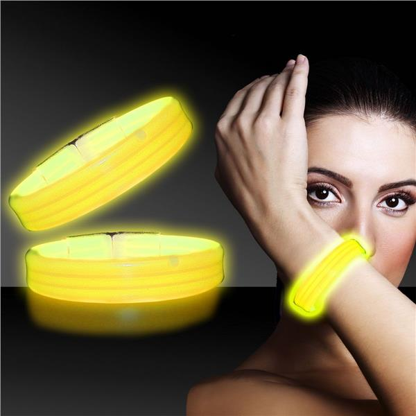 YELLOW DELUXE 3X WIDE BRACELET