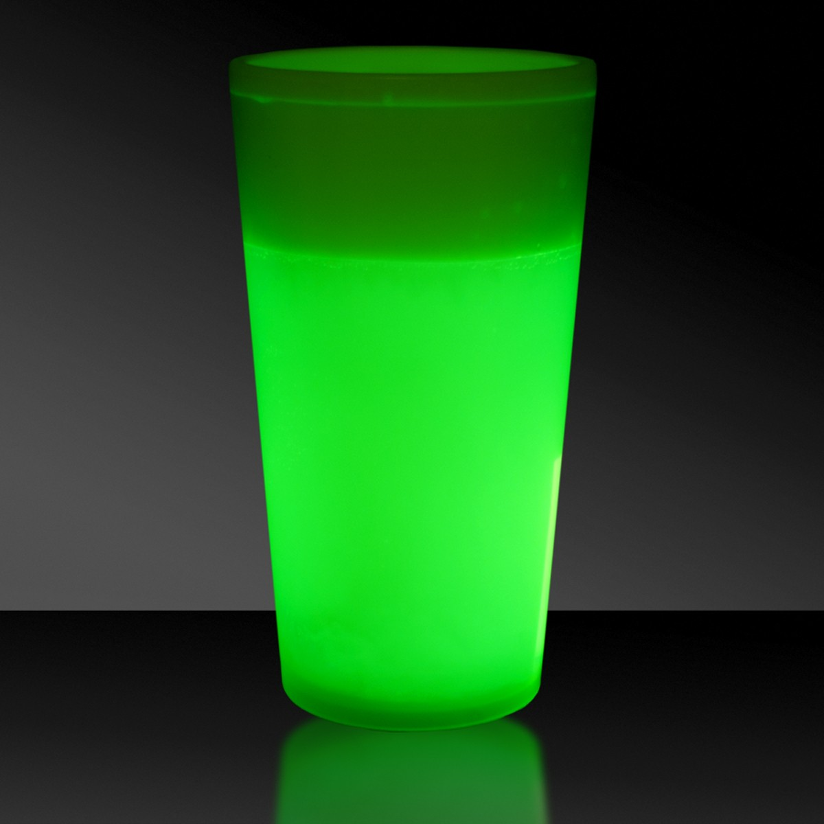 NEW-12 OZ. GREEN GLOW CUP