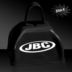 3 INCHES BLACK METAL COWBELL