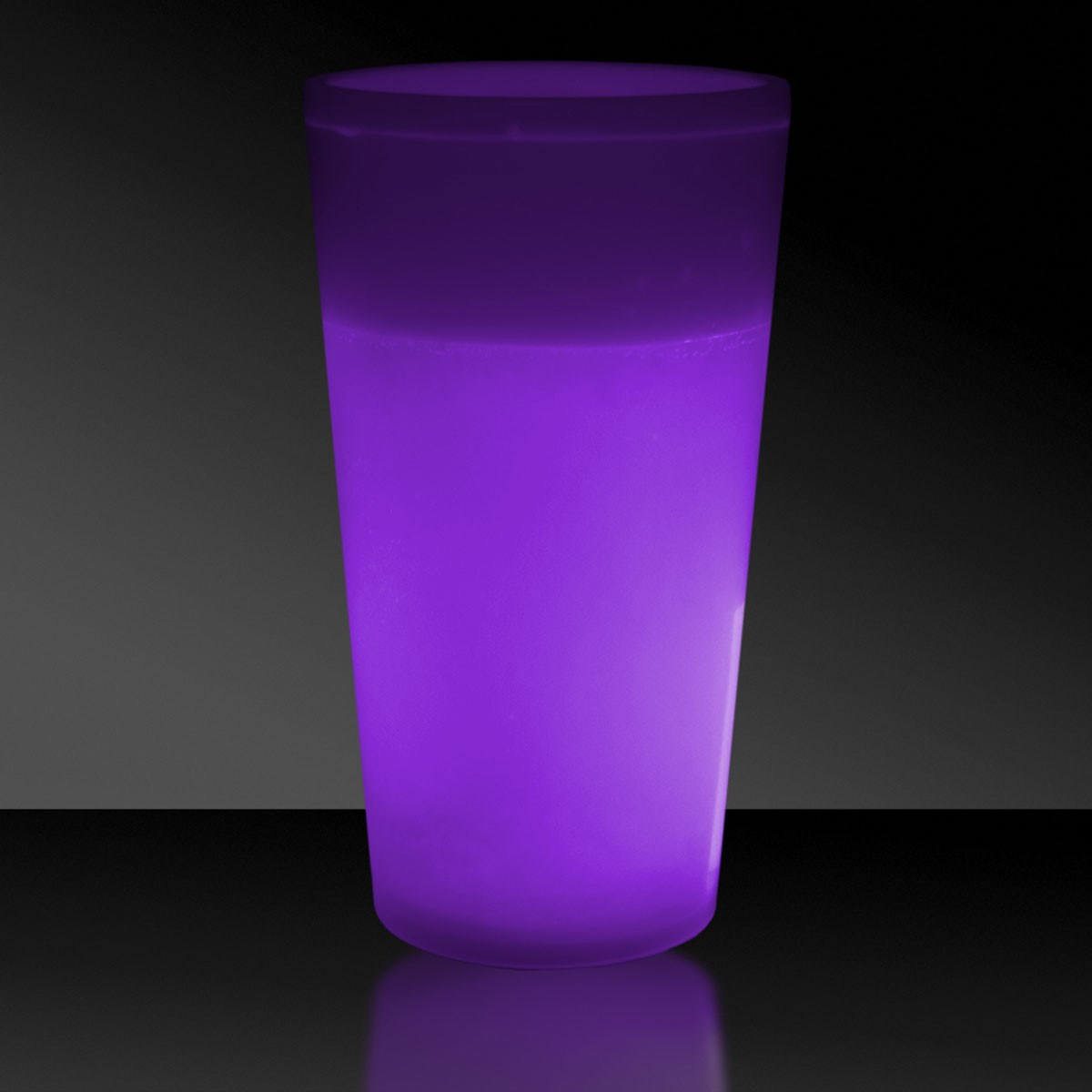 NEW - 12 OZ. PURPLE GLOW CUP