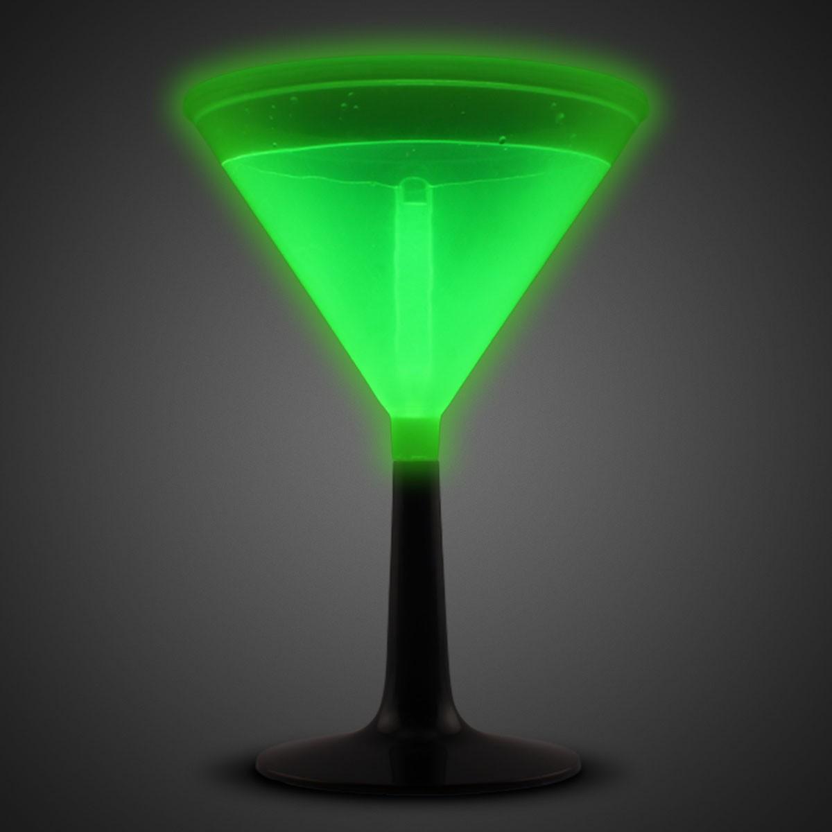 GREEN - GLOW MARTINI CUP