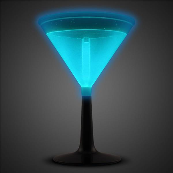 BLUE - GLOW MARTINI CUP