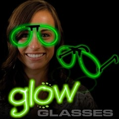 GLOW EYEGLASSES GREEN