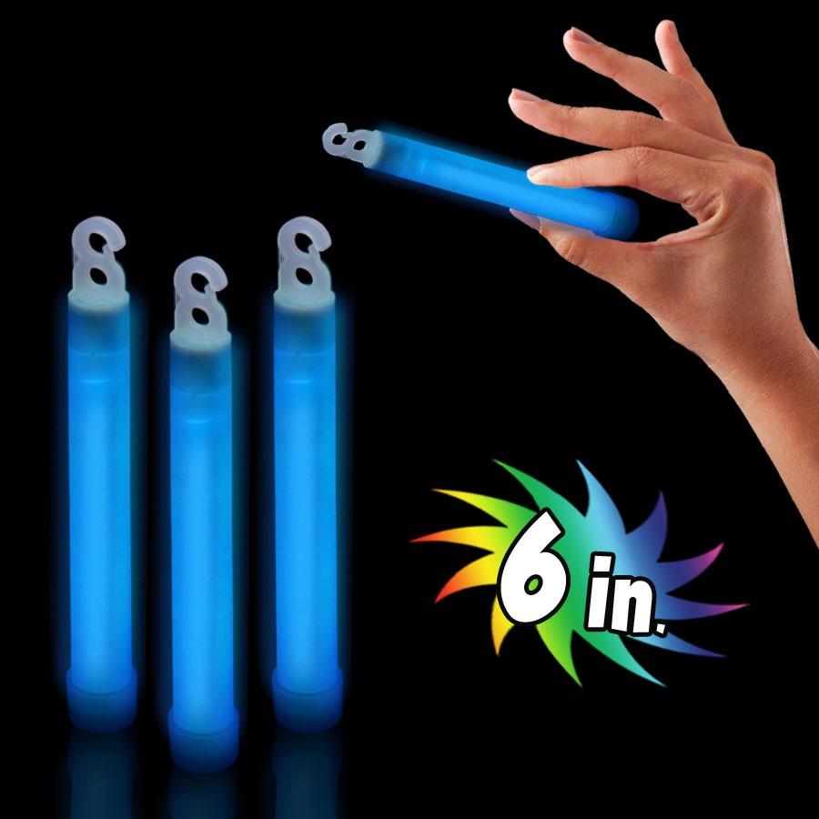 6 INCH BLUE PREMIUM GLOW STICK