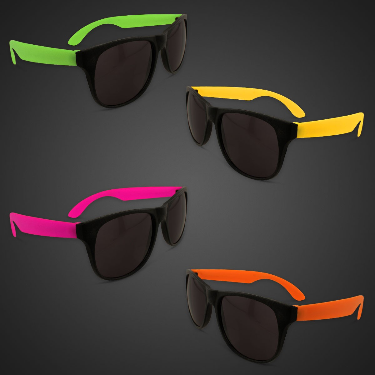 NEON SUNGLASSES- ASST. COLORS