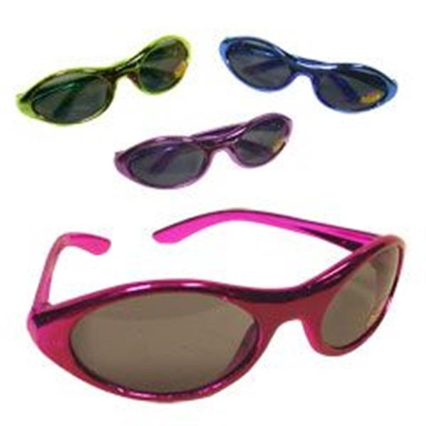 METALLIC PARTY SUNGLASSES - 12 PACK