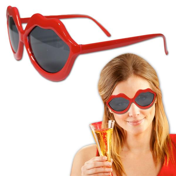 RED LIP SUNGLASSES