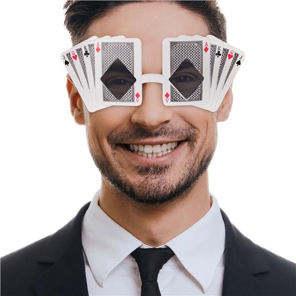 PLAYING CARD GLASSES
